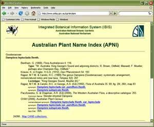 Australian National Herbarium (HC) - Centre for Plant ...